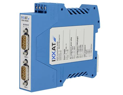 ixxat termination resistor can cr200 modular iso 11898 2 can repeater with backbone