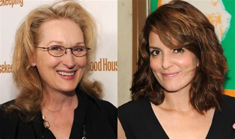 what type of hair does tina fey have meryl streep and tina fey to play mother and daughter in