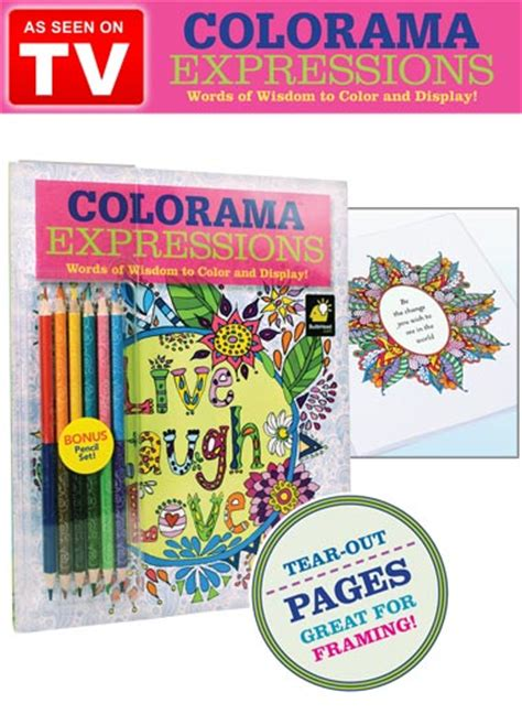coloring books for adults as seen on tv colorama coloring book as seen on tv drleonards