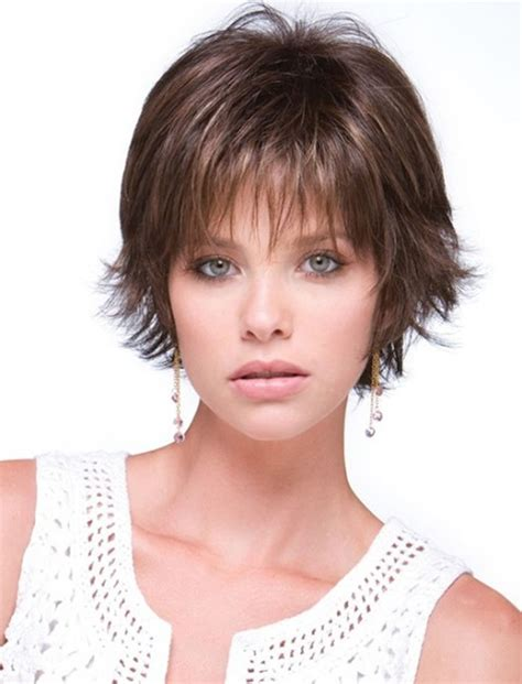 short hairstyles for round face fine hair short haircuts for round face thin hair ideas for 2018