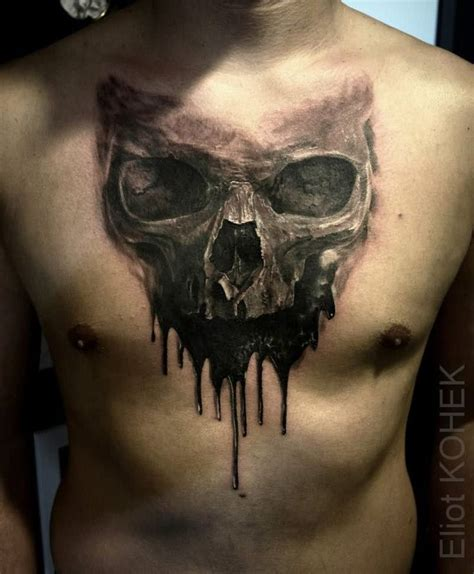 badass skull tattoos 46 best skull images on skull