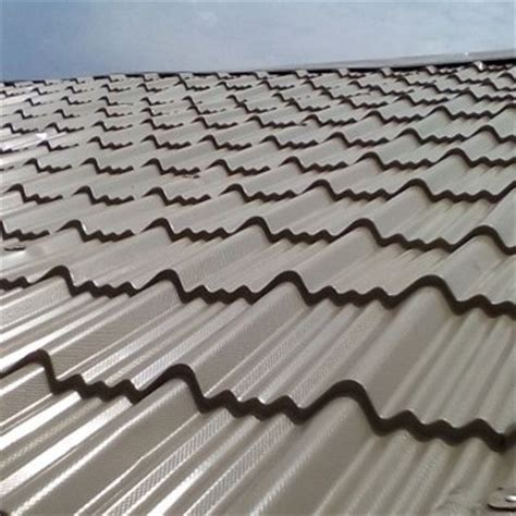 tile type span roofing price cost per sqm of aluminium step tiles span