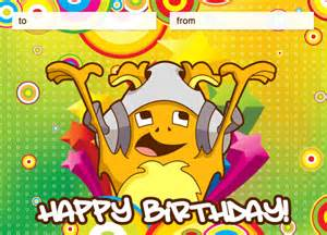 birthday e cards kidzworld