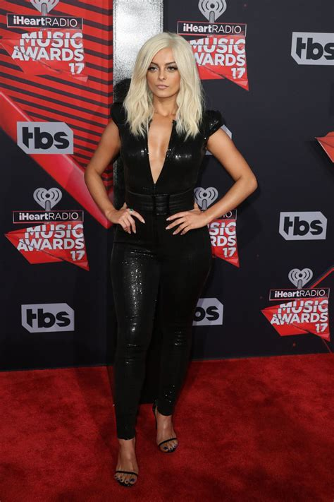 Bebe Rexha at iHeartRadio Music Awards in Los Angeles A 3 ... Iheartradio Awards 2017