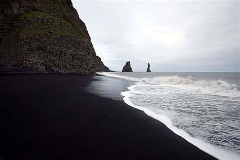 beach with black sand five most amazing colorful beaches of the world