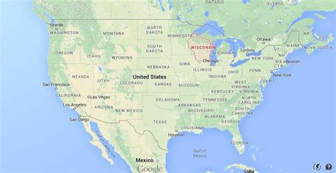 wisconsin on us map where is wisconsin on usa map world easy guides