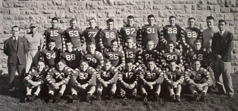 Ub Varsity 1940 buffalo bulls football ub sports at