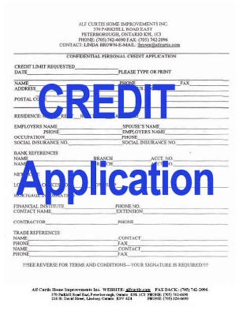 Child Tax Credit Application Form Number Free Printable Business Credit Application Form Form Generic