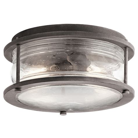 kichler outdoor lighting fixtures kichler lighting 49669wzc outdoor ceiling lights ashland bay