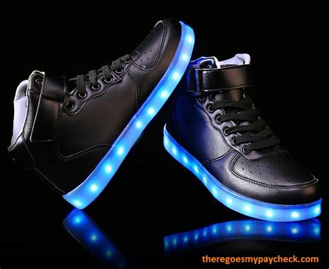 Shoes Led led shoes there goes my paycheck