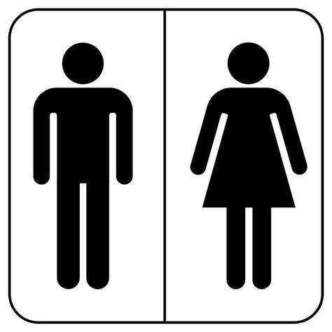 bathroom sign people mens and womens bathroom signs clipart best