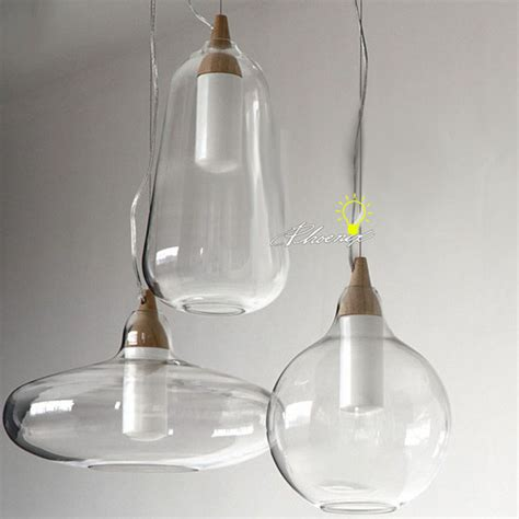 clear glass pendant lights modern nu clear glass pendant lighting 8903 free ship