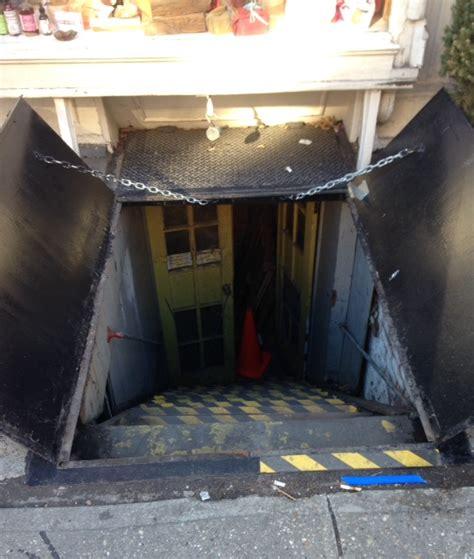 sidewalk basement doors sidewalk cellar hatch doors steel new york ny steel