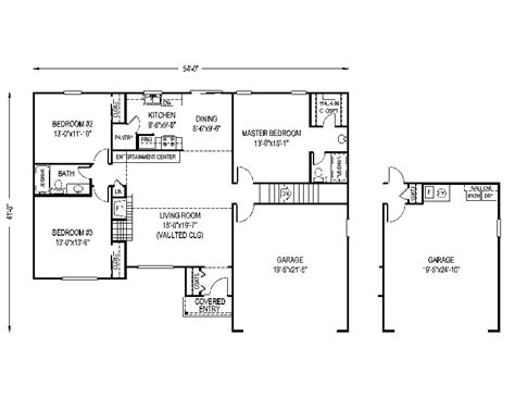 modest house plans numberedtype
