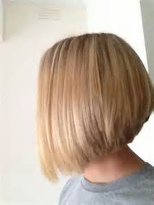 medium bob hairstyles front back stacked medium length haircuts