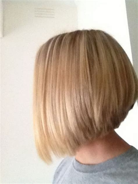 hairstyles back view medium length stacked medium length haircuts