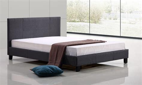grey linen bed frame linen fabric bed frame grey