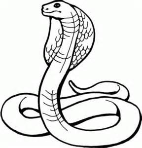 serpiente para colorear pintar e imprimir