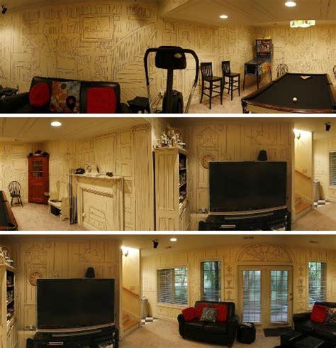 cheap but clever brilliant diy basement renovation