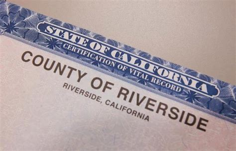 Riverside County Birth Records Paper Shortage Birth Marriage Certificates Affected Press Enterprise