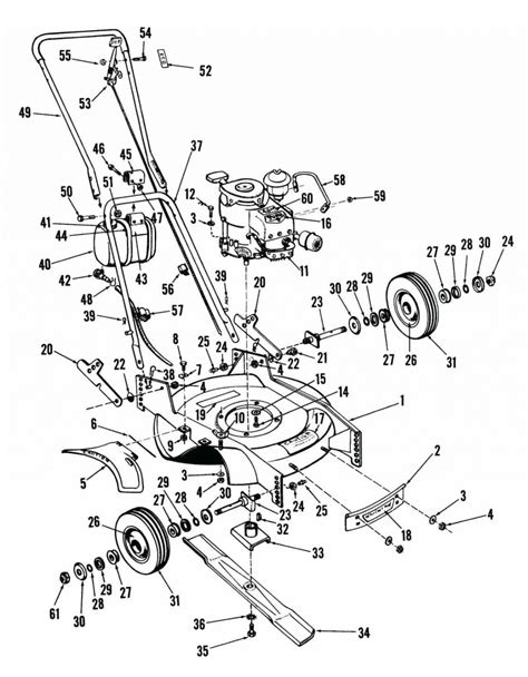 lawn mower part diagram toro personal pace engine diagram toro 6 5 hp engine
