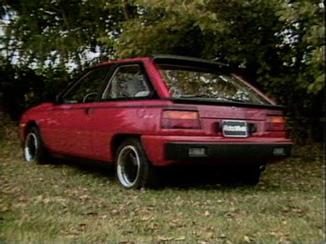 mitsubishi colt turbo motorweek retro review 85 dodge colt turbo and daytona
