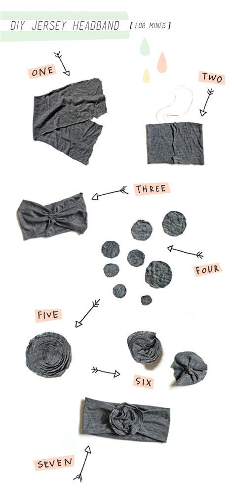 diy jersey knit headband kelli murray diy jersey baby headband