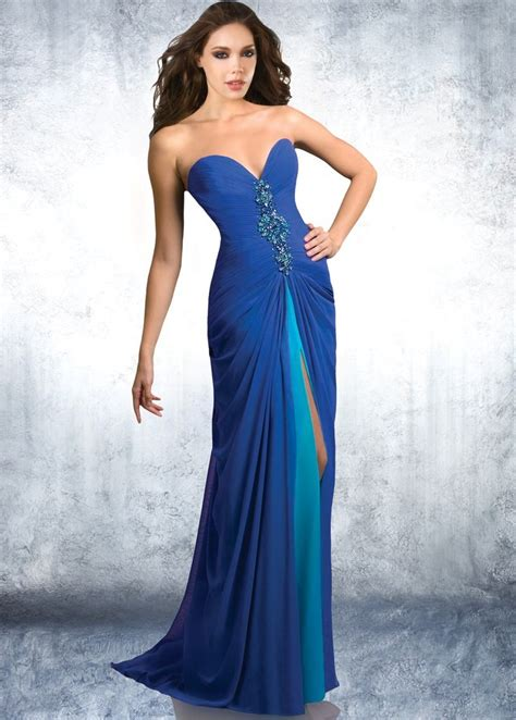 blue beaded gown formal dresses heylovelygirl