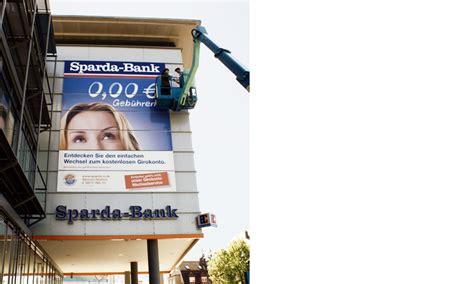 sparda bank nürnberg bic hausel sparda bank n 252 rnberg fassadenwerbung