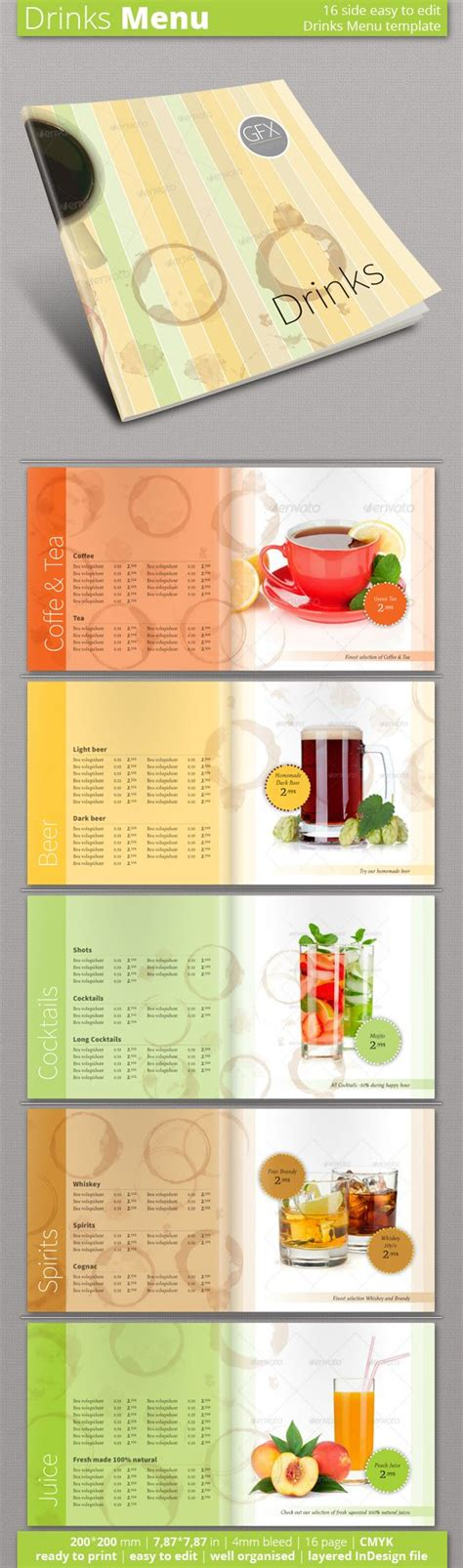 indesign menu template free 1000 images about menu template on shops