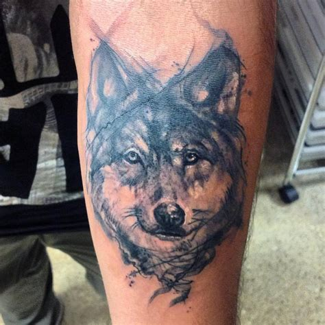 black wolf tattoo wolf tattoos askideas
