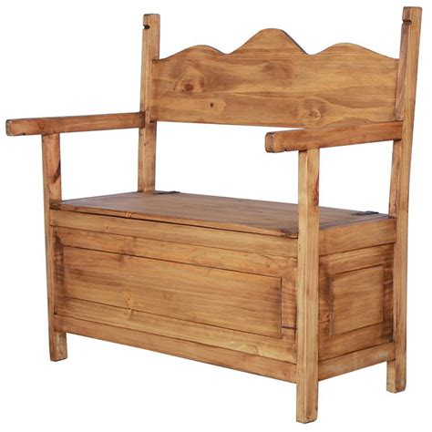 rustic storage benches rustic pine collection paris storage bench ban17