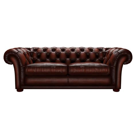 churchill sofa churchill 3 seater sofa in antique chestnut from sofas