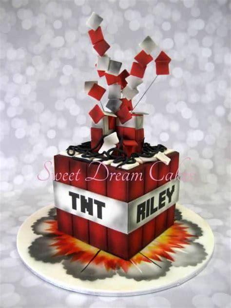 tnt minecraft cake minecraft cakes pinterest  cakes  minecraft