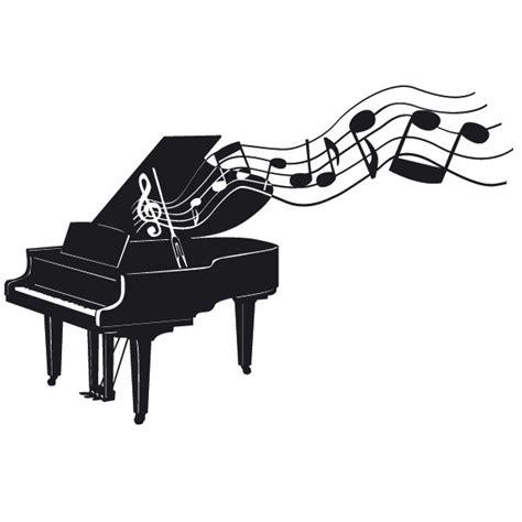 fl 252 gel klavier mit noten wandtattoo
