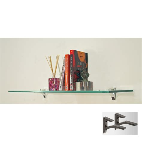 tempered glass cabinet shelves 12 inch cardinal tempered glass shelf chrome in wall