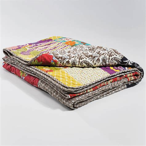 Patchwork Throw Uk - patchwork throw by i retro notonthehighstreet