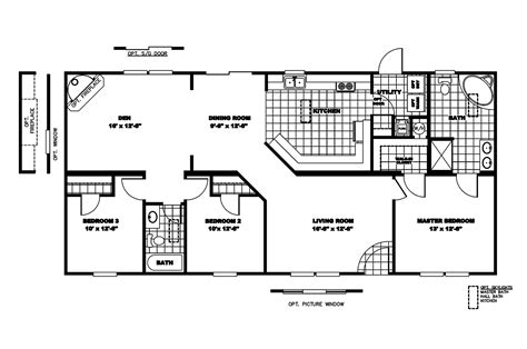 clayton mobile homes floor plans manufactured home floor plan 2006 clayton discontinued