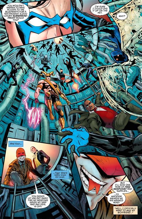 Dc Comics Nightwing 23 August 2017 science dc comics nightwing 24 review and spoilers