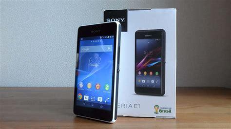 Hp Sony Xperia E1 Dual D2105 コンパクトでお手頃価格な xperia e1 dual d2105 外観レビュー でこにく