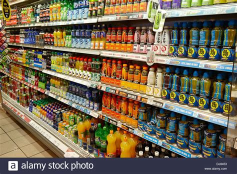 energy drink uk soft energy drinks in fridges in a small store in the uk