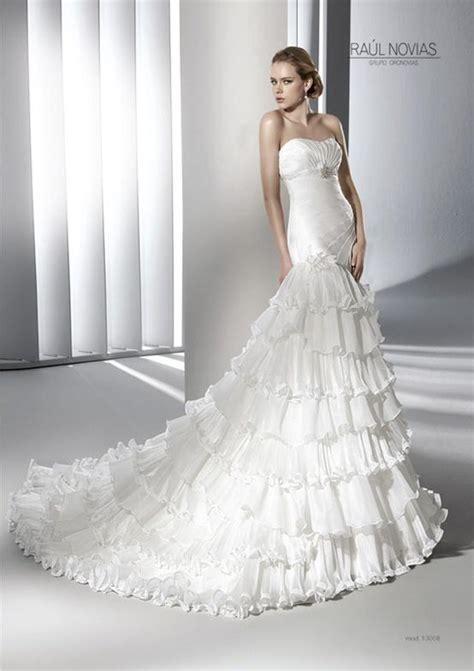 imagenes de vestidos de novia con olanes vestido de esta semana foro moda nupcial bodas com mx