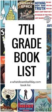 book list diverse 7th grade summer reading list