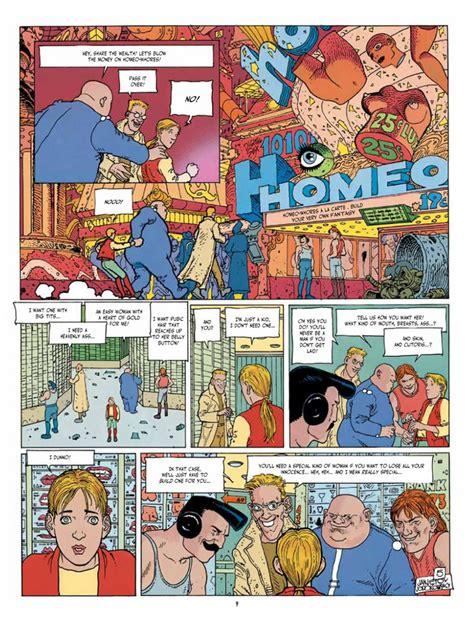 before the incal list of dystopian comics
