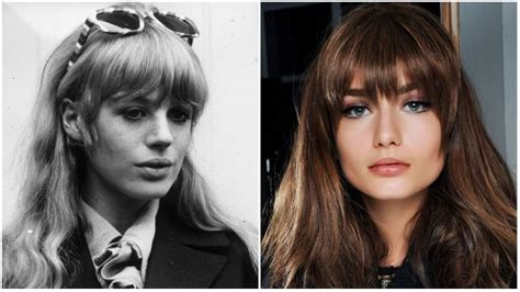eye grazing bangs the best 60s hairstyles for vintage lovers the trend spotter