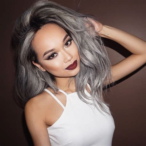 Ombre Look Grau by Grey Ombr 233 Hair Is The Newest Color Trend And It S