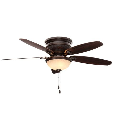 hunter 52 onyx bengal bronze ceiling fan hunter ashmont 52 in indoor onyx bengal bronze ceiling