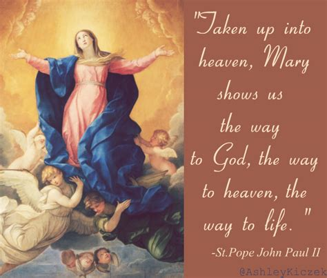 Feast Of The Assumption Of Quotes happy feast of the assumption of