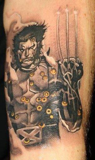 3d tattoo wolverine my wolverine tattoo inkspiration pinterest
