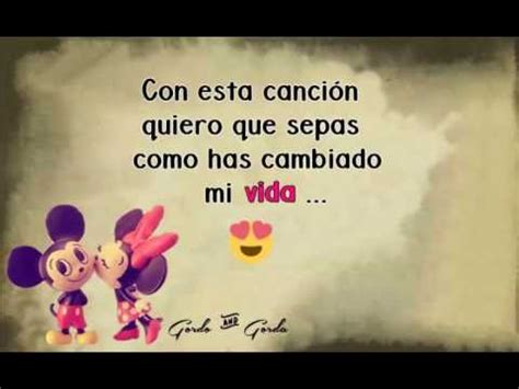imagenes de amor para mi no via video para dedicar a mi novia te amo youtube